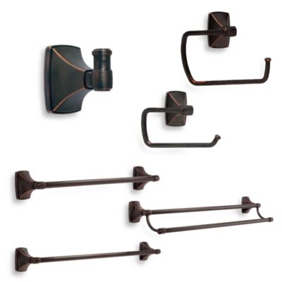 Amerock® Clarendon™ Oil Rubbed Bronze 24-Inch Double Towel Bar