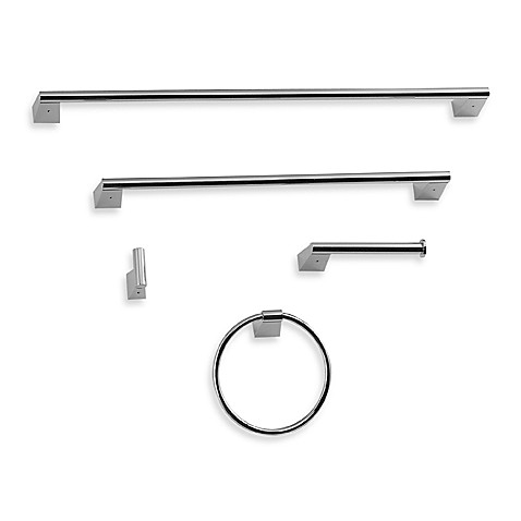 Gatco® Bleu Chrome 18-Inch Towel Bar