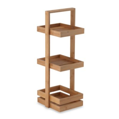 3-Tier Bamboo Caddy