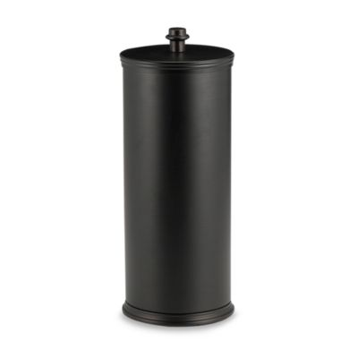 buy deluxe pedestal oil rubbed bronze toilet paper stand from bed bath beyond. Black Bedroom Furniture Sets. Home Design Ideas