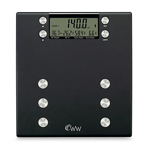 Weight Watchers® Body Analysis Scale by Conair®