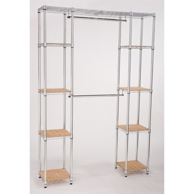 Trinity EcoStorage™ Expanding Closet Organizer in Chrome