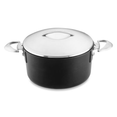 Scanpan® Professional Nonstick 4-Quart Covered Saucepot