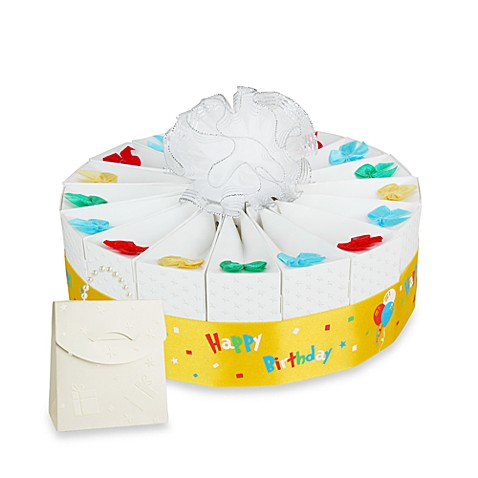 Birthday Party Single Tier Cake Favor Kit