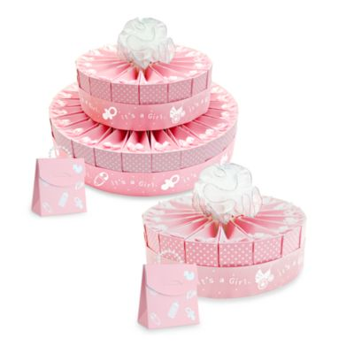 Baby Shower Single Tier Cake Favor Kit