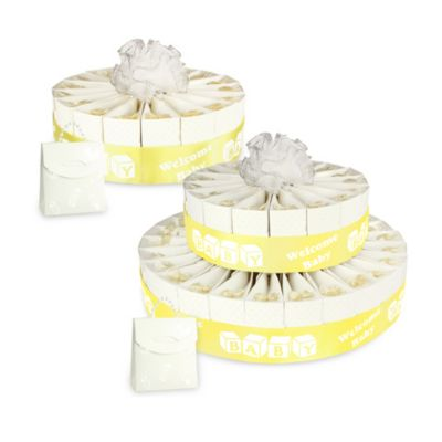 Welcome Baby Cake 5-Inch Single Tier Favor Kit