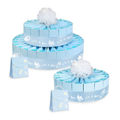 Baby Shower Two Tier Cake Favor Kits