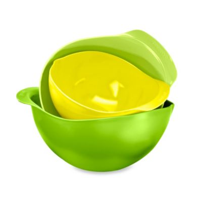 Preserve® 3-Piece Mixing Bowl Set