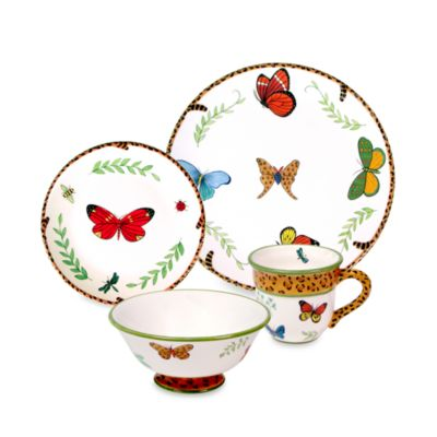 Butterfly Paradise 6-Inch Soup Bowl for Zrike