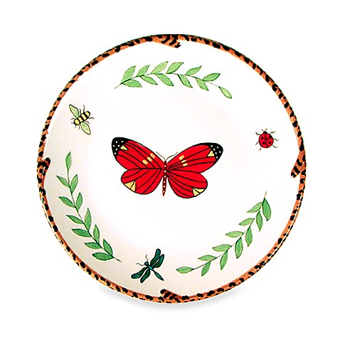 Butterfly Paradise 8-Inch Salad Plate for Zrike