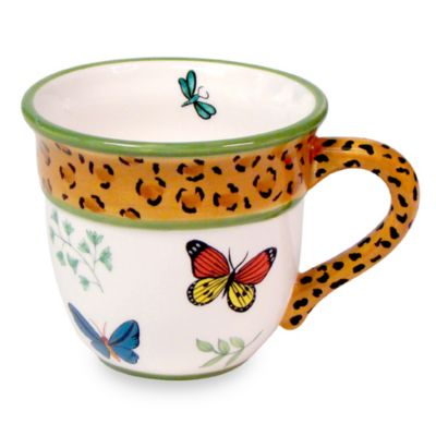 Butterfly Paradise 10-Ounce Mug for Zrike