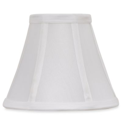 White 6-Inch Bell Lamp Shade