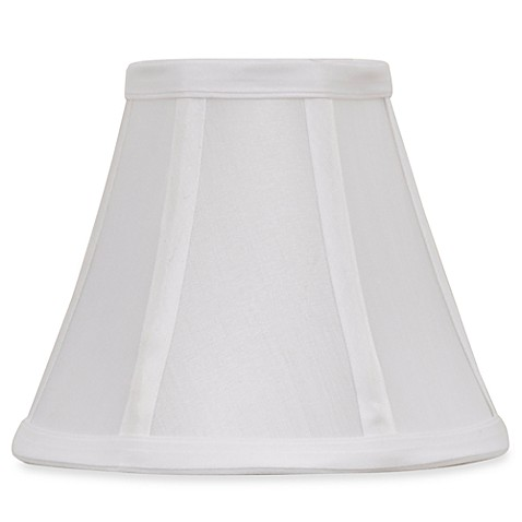 Mix & Match Small 6-Inch Bell Lamp Shade in White