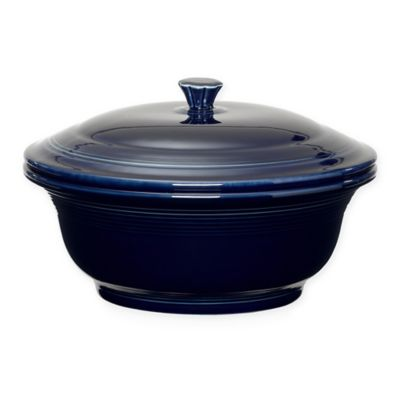 Fiesta® 9 1/4-Inch Covered Casserole in Cobalt Blue