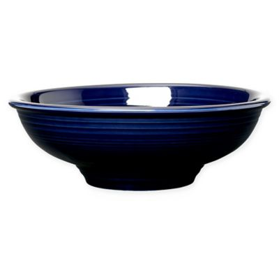 Fiesta® 64-Ounce Pedestal Pasta Bowl in Cobalt Blue
