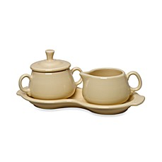 Fiesta® Sugar and Creamer Set with Tray in Ivory