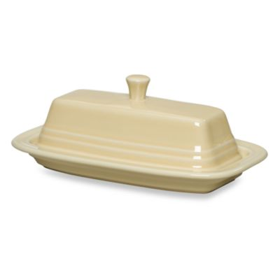 Fiesta® Covered Butter Dish in Ivory