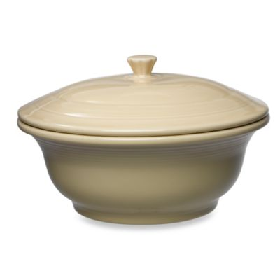 Fiesta® 70 oz. Covered Casserole Dish in Ivory