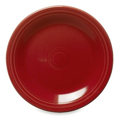 Fiesta® Dinner Plate in Scarlet