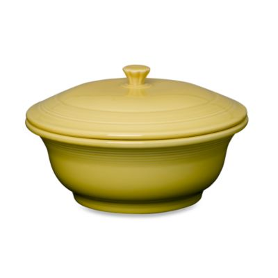 Fiesta® Sunflower 9 1/4-Inch Covered Casserole