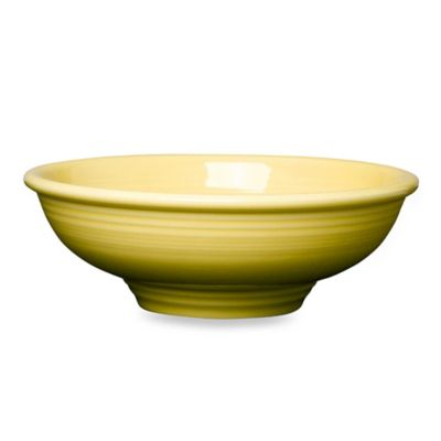 Fiesta® Sunflower 64-Ounce Pedestal Pasta Bowl