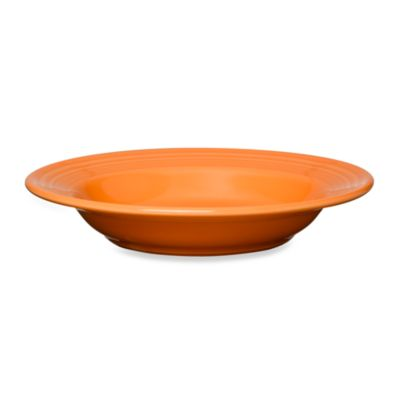 Fiesta® Rim Soup Bowl in Tangerine