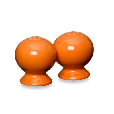 Fiesta® Salt and Pepper Shakers in Tangerine