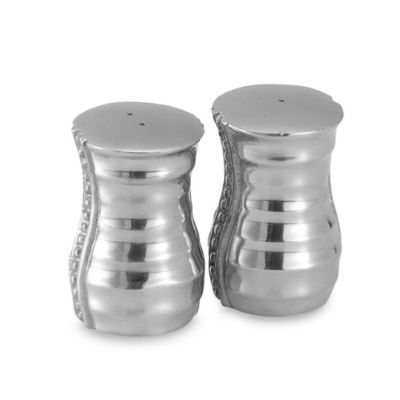 Flutes and Pearls Salt and Pepper Shaker Set