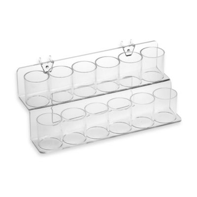 Azar Pegboard System Two-Tier Twelve Cup Tray