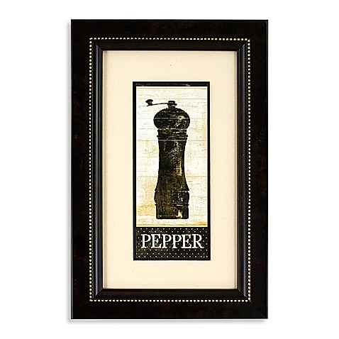 Pepper Mill Wall Art