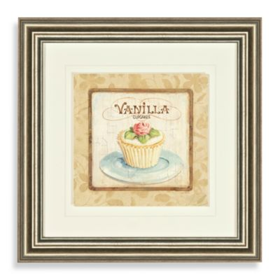 Vanilla Cupcake Wall Art