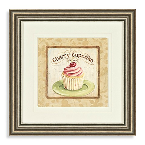 Cherry Cupcake Wall Art