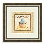 Chocolate Cupcake Wall Art