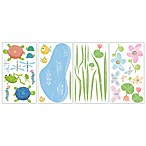 RoomMates Peel and Stick Wall Decals in Hoppy Pond
