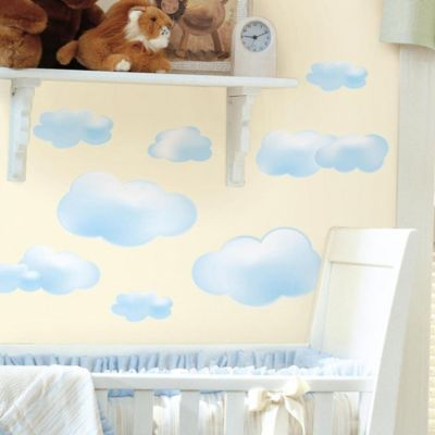 Peel and Stick Wall Decals in Clouds