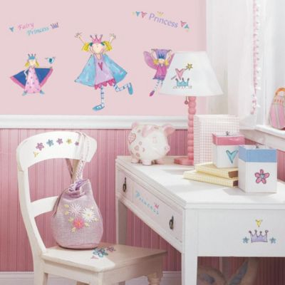 RoomMates Peel and Stick Wall Decals in Fairy Princess