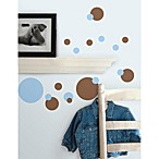 RoomMates Peel and Stick Wall Decals in Blue Dots