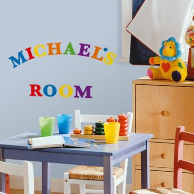 Primary Baby Wall Decor