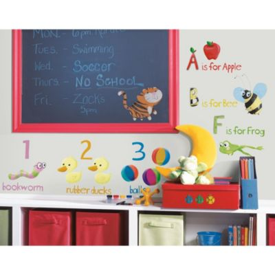 RoomMates Peel and Stick Wall Decals in Education Station