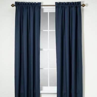 Orlando 84-Inch Window Panel in Navy