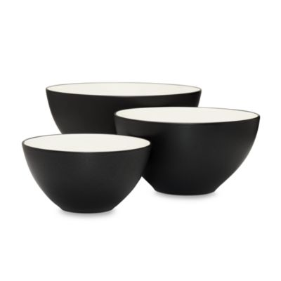 Noritake® Colorwave Graphite Bowls (Set of 3)
