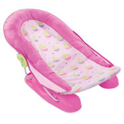 Summer Infant Large Comfort Baby Bather Bath Tub in Pink