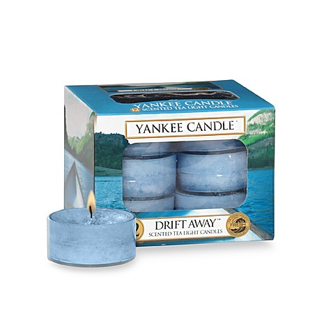 Yankee Candle® Drift Away™ Tea Light Accent Candles (Box of 12)