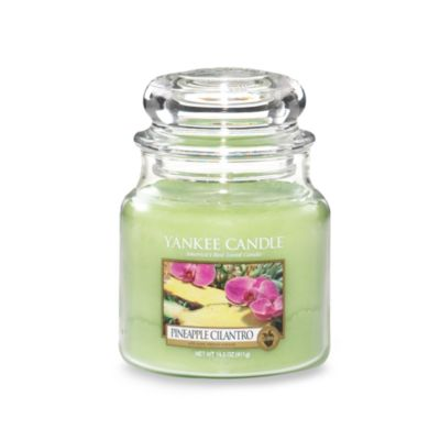 Yankee Candle® Housewarmer® Pineapple Cilantro Medium Classic Jar Candle