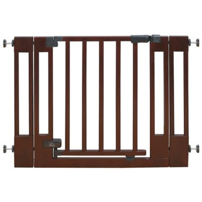 Summer Infant® Deluxe Top Of Stairs Wood Walk-Thru Gate