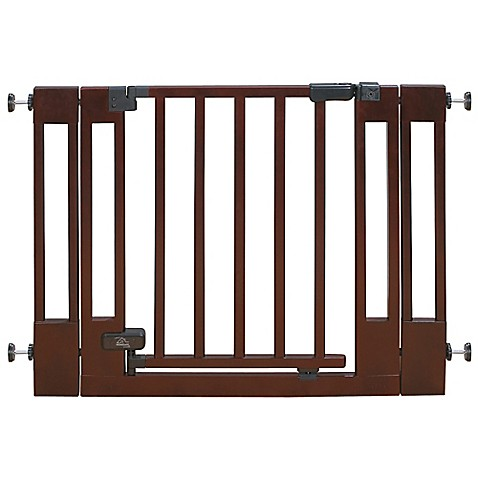 Buy Summer Infant 174 Deluxe Wood Walk Thru Gate From Bed
