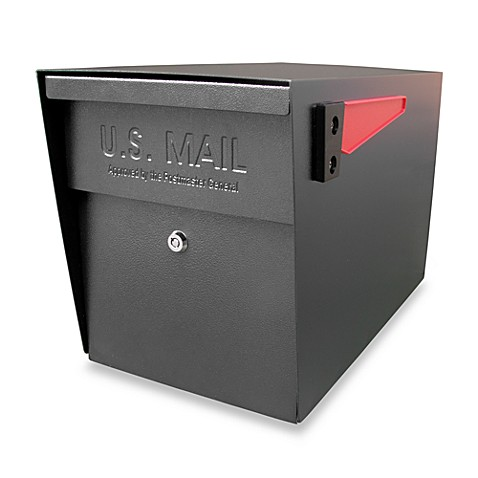 Mail Boss™ Curbside Locking Mailbox - Black