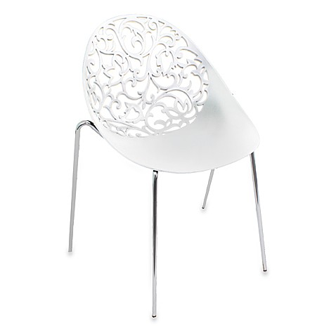 Dahlia White Chairs (Set of 2)