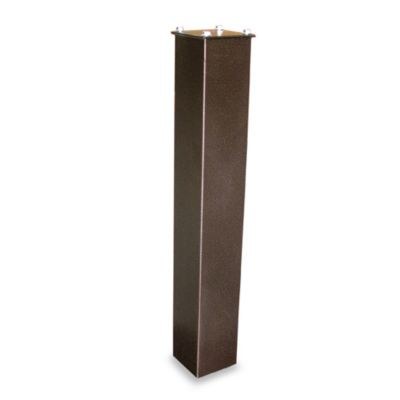 Mail Boss™ Curbside Locking Mailbox Surface Mount Post in Bronze