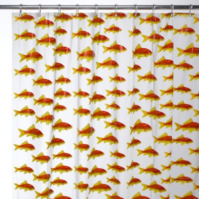 Kids Bath Decor > Interdesign® Goldfish 72-Inch x 72-Inch EVA Shower Curtain